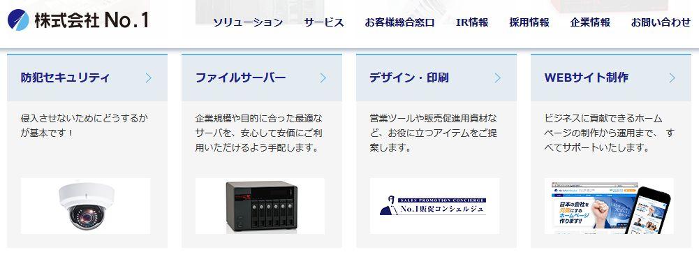 No.1上場初日終値